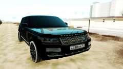Land Rover Range Rover SVA чёрный para GTA San Andreas