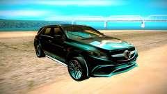 A Mercedes-Benz ML63 AMG чёрный para GTA San Andreas