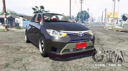 Toyota Vios (XP150) 2013 [replace] para GTA 5