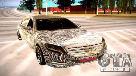 Mercedes-Benz S600 X222 para GTA San Andreas