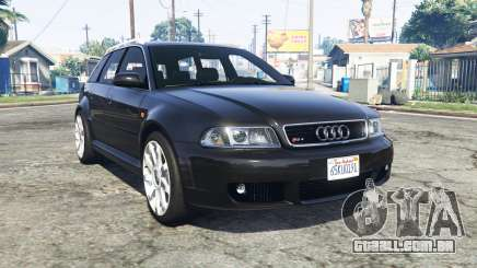Audi RS 4 Avant (B5) 2001 v1.2 [replace] para GTA 5