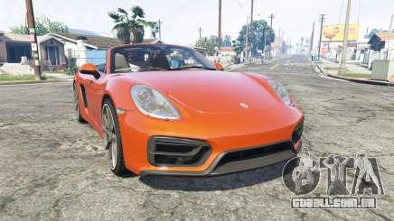 Porsche Boxster GTS (981) v1.2 [replace] para GTA 5