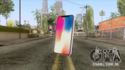 iPhone X White para GTA San Andreas