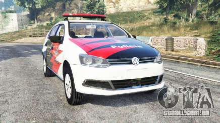 Volkswagen Voyage brazilian police [replace] para GTA 5