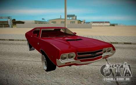 Chevrolet Chevelle 1972 para GTA San Andreas