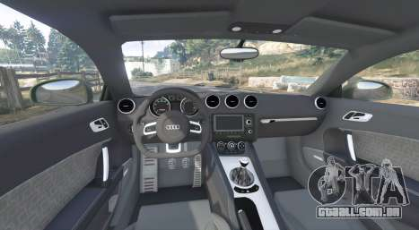 GTA 5 Audi TT RS (8J) 2013 v1.1 [replace] traseira direita vista lateral