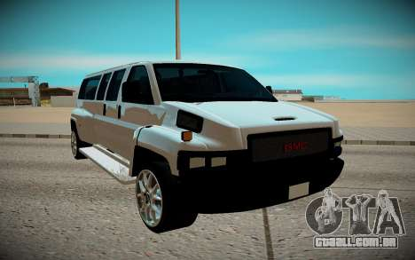 GMC Savana C5500 para GTA San Andreas