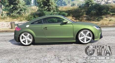 GTA 5 Audi TT RS (8J) 2013 v1.1 [replace] vista lateral esquerda