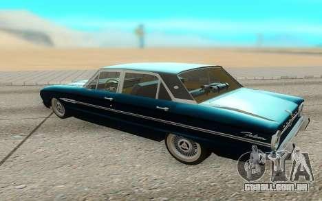 Ford Falcon para GTA San Andreas esquerda vista