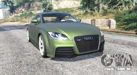 Audi TT RS (8J) 2013 v1.1 [replace] para GTA 5