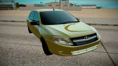 LADA Granta amarelo para GTA San Andreas