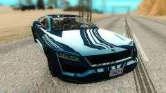 Ubermacht Revolter para GTA San Andreas