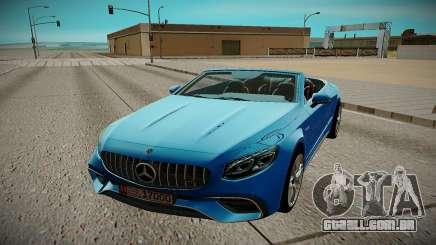 Mercedes Benz S63 2018 para GTA San Andreas
