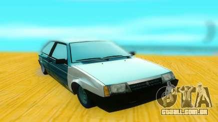 VAZ 2108 preto para GTA San Andreas