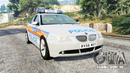 BMW 525d (E60) Metropolitan Police [replace] para GTA 5