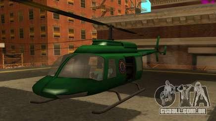 VCPD Maverick from GTA Vice City para GTA San Andreas