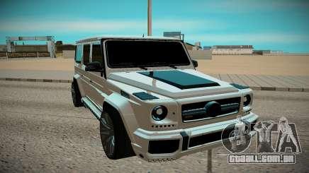 Mercedes-Benz AMG G63 para GTA San Andreas