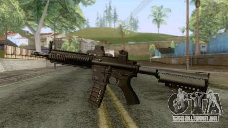 HK-416 Carbine v2 para GTA San Andreas segunda tela