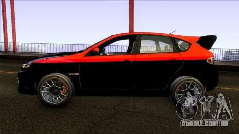 Subaru Impreza WRX STi Twin Turbo para GTA San Andreas