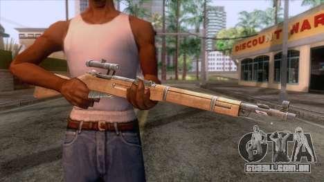 Mosin-Nagant M44 Sniper para GTA San Andreas