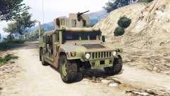 HMMWV M-1116 Woodland v1.1 [replace] para GTA 5