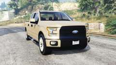 Ford F-150 Lariat SuperCrew 2015 v1.1 [replace] para GTA 5