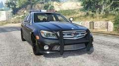 Mercedes-Benz C 63 AMG (W204) Police [replace] para GTA 5
