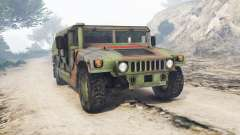 HMMWV M-1116 Unarmed Woodland [replace] para GTA 5