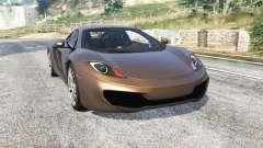 McLaren MP4-12C 2011 v1.1 [replace] para GTA 5
