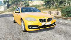 BMW 525d Touring (F11) 2015 (UK) v1.1 [replace] para GTA 5