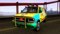 GTA V Vapid Clown Van para GTA San Andreas