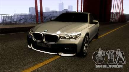 BMW 760i 2017 para GTA San Andreas