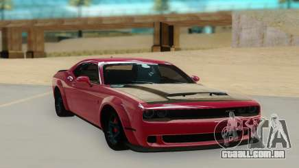 2018 Dodge Challenger Demon SRT para GTA San Andreas