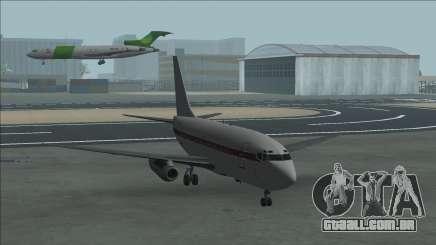 Boeing 737-100 Janet Companhias Aéreas para GTA San Andreas