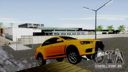 Mitsubishi Lancer Evo X Full Tunable para GTA San Andreas