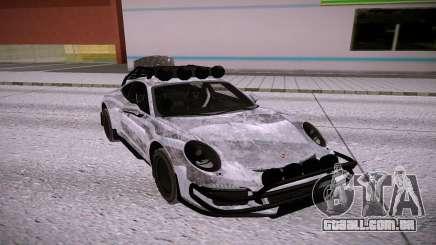 Porsche 911 GT3 prata para GTA San Andreas