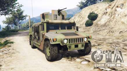 HMMWV M-1116 Woodland v1.1 [replace] para GTA 5