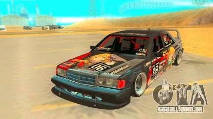 Mercedez-Benz 190E para GTA San Andreas