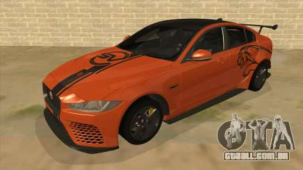 2017 Jaguar XE SV Project 8 para GTA San Andreas