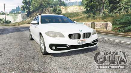 BMW 525d Touring (F11) 2015 (US) v1.1 [replace] para GTA 5