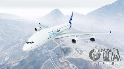 Airbus A380-800 v1.2 [replace] para GTA 5