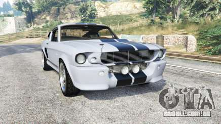 Ford Shelby Mustang GT500 Eleanor 1967 [replace] para GTA 5
