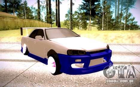 Nissan Skyline para GTA San Andreas