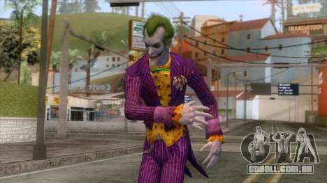 Batman Arkham City - Joker Skin v1 para GTA San Andreas