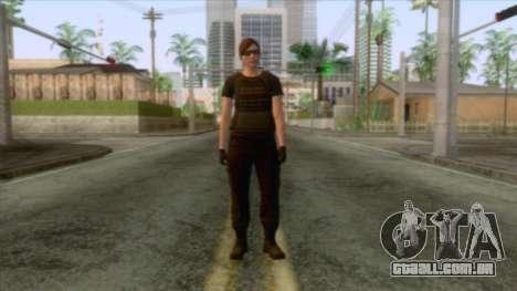 GTA 5 Online Female Skin v2 para GTA San Andreas