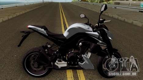 Kawasaki Z1000 para GTA San Andreas vista traseira