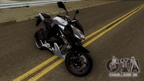 Kawasaki Z1000 para GTA San Andreas vista interior