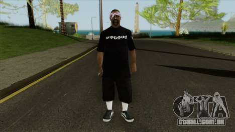 New ballas1 para GTA San Andreas