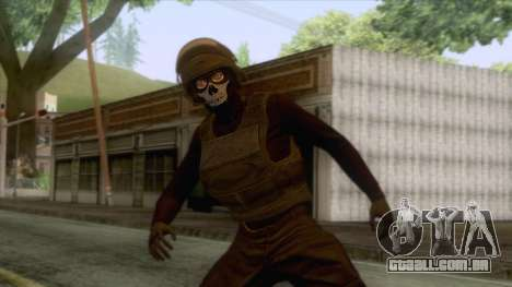 GTA 5 Online Female Skin v1 para GTA San Andreas