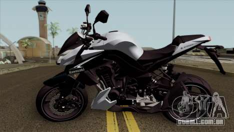 Kawasaki Z1000 para GTA San Andreas esquerda vista